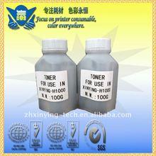 Refillable black copier toner powder compatible for canon machine