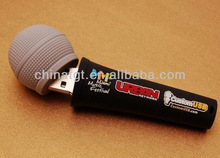Custom Logo Mini Microphone Customized 32GB USB Flash Drive
