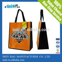 2013 popular laminated nonwoven shopping bag laminated non woven promotional bags laminated pp non woven tote bag