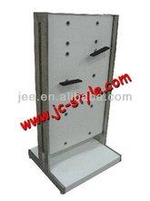 used shoe store display racks/free standing adjustable sport shoes display rack/custom pos display stand