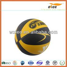 rubber basketball ball