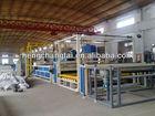 PVC two extrude machine and laminate machine,banner making machine
