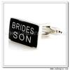 YH-1564 Rectangle Brides Son Wedding Cufflinks Wholesale