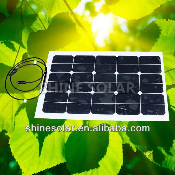 45 W painel solar flexível para motorhome, Caravan, Camper van, Rv, Barco ou iate