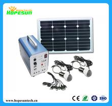 High quality 5W solar lighting kits ,small solar home system