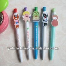 Shenzhen Plastic Promotional Cartoon Pen