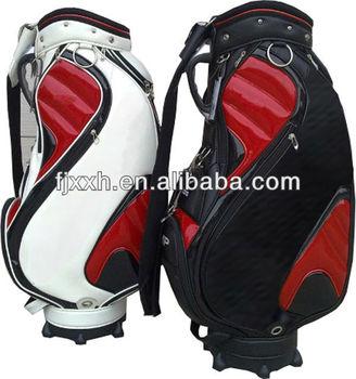 outdoor leisure clubmaxx custom leather golf bag with wheel