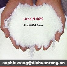 Urea 46 price(N 46%, Size:0.85-2.8mm)