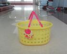 2014 new design plastic storage basket on hot sale
