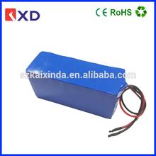 KXD China lifepo4 12v battery pack 10Ah for power supply