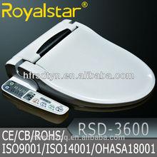 Royalstar Warm Water Washing Toilet Seat Beauty White