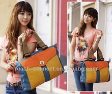 ladies canvas handbag with tote women's hanging travel toiletry bag purses and handbags