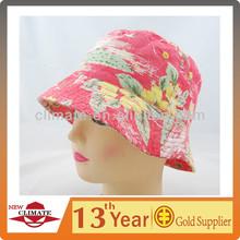 Girls tropical bucket hat, floral bucket hat