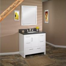 Lowes style selections solid wood bathroom vanity