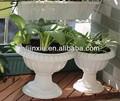 plantador do jardim de plástico oferta vasos berçário pote branco