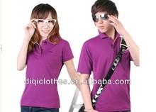 2014 hot sale factory fashion design collar t-shirt design for ladies