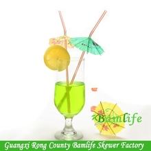parasol bar drink cocktail straws