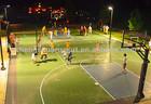 PP assembly sport court flooring/basketball, badminton, volleyball, tennis