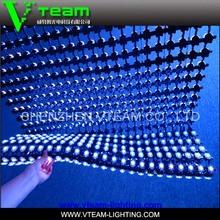 VTEAM Innovative soft led mesh screen/ concert led video display