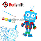 Toys for children Painting doll Color your Robot doll charm