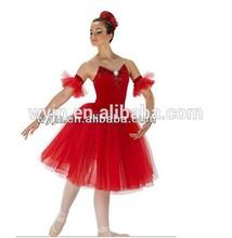 2015-flower teen hot classical flower girls jazz skirt leotard hot red sexy girl skirt