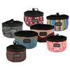 portable dog travel food bag & bowl/no tip dog bowl