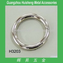 Western custom metal round ring for handbags and leather bags of bag accessories