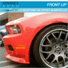 FOR 2010 2011 2012 FORD MUSTANG V6 BODYKIT PU STL STYLE FRONT BODY KIT POLY URETHANE BODYKITS