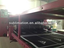 cloth roller heat transfer machine/fabric heat press machine/textil roll heat transfer machine