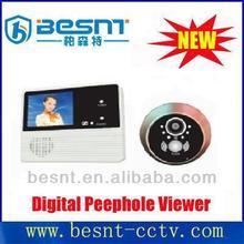 2.4inch LCD digital peephole viewer 0.3megapixel wireless door eye BS-MK03A