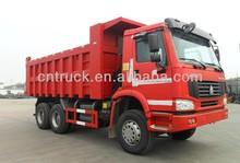 25T 6x4 HOWO Dunp truck dumper loader(manufacturer)