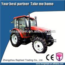 4wd 80hp tractor de la mano