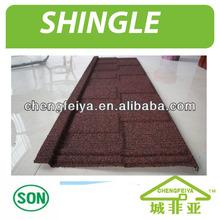 Shingle roofing tile