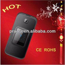 """latest 2.4"""" big button senior flip phone 2G 3G Red/Black/White SOS cell phone for elderly"""