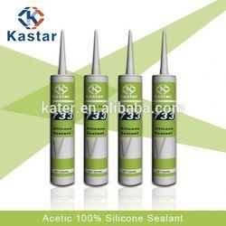 Acetoxy,v tech silicon sealant,100% RTV Silicone