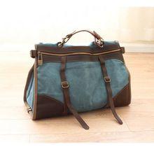 Retro camera shoulder bags for men mens canvas travel bag with high quality
