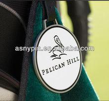 Pelican Hill Signature Golf Bag Tag Metal