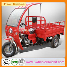 China sell factory supplier 2014 New Design cheap lifan brand engines cargo motorcycle with roof for adult