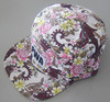 Hot sale custom 5 panel snapback floral hat and cap