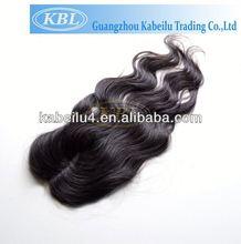 Grade AAAAA virgin brazilian hair closure pieces