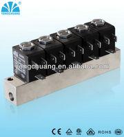stainless steel manifold solenoid valve