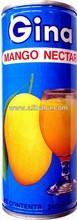 Gina Mango Nectar Juice 8 floz. (CRV1)