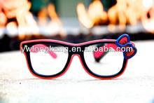 Yiwu Fashion christmas flashing glasses with 2032 battery glowing and flashing