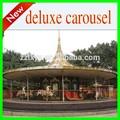 parque de diversões de madeira carrossel de parque de cavalos para o shopping