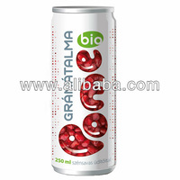 Pome organic pomegranate fizzy soft drink with canesugar and 30% fruit juice
