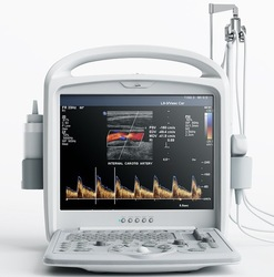 Portable Color Doppler Ultrasound Machine With Linear Probe