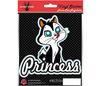 LOONEY TUNES PUSSYFOOT - Princess cat car sticker