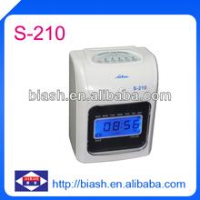Punch Card Clock, Aibao Brand (Heshi Office), S-210