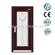 p-40 wood and glass pocket half glass interior wood doors