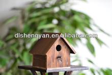 Newest Decorative Wooden Bird House,Small Bird Cage